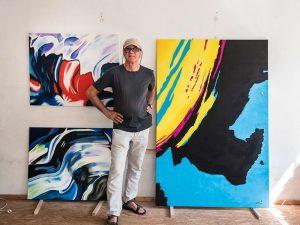 Im Atelier - Anando Arnold