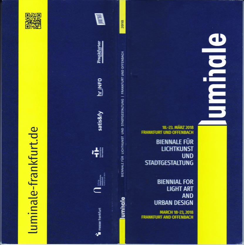 Katalog Luminale Frankfurt 2018